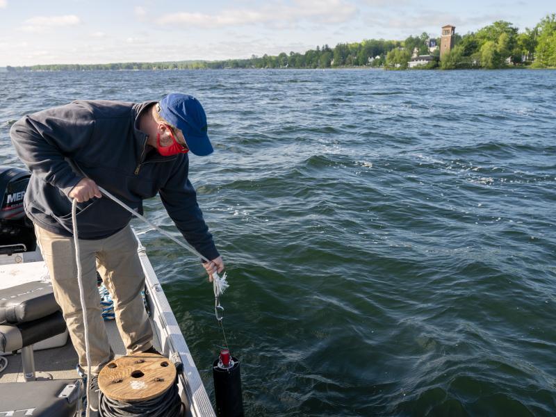 Jefferson Project at Lake George to research Chautauqua Lake