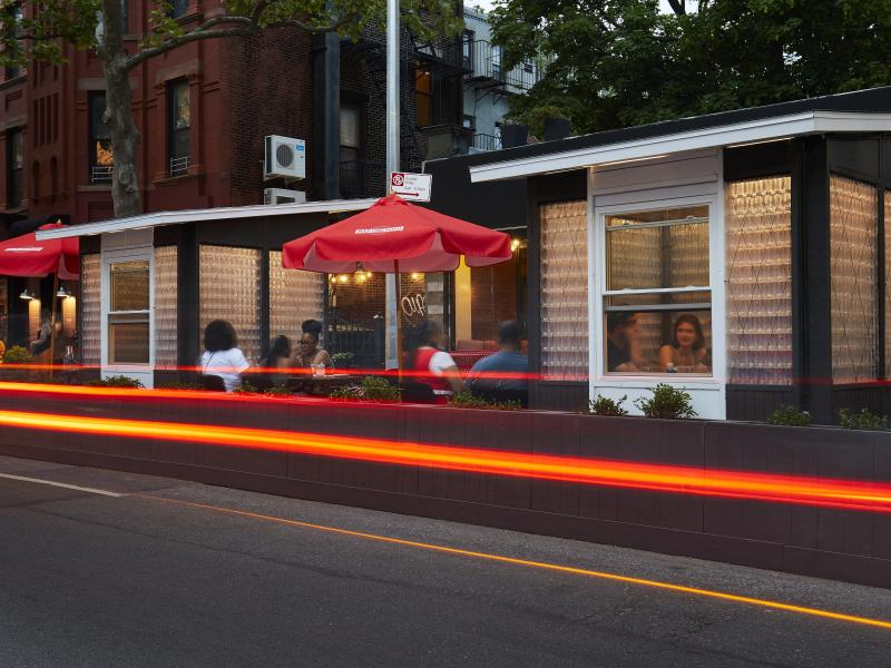 The Future of Smart Outdoor Dining Is Being Built With Upcycled Water Bottles