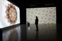 Installation view of Balsam Jorh, Jude Abu Zaineh, University of Windsor (2019)